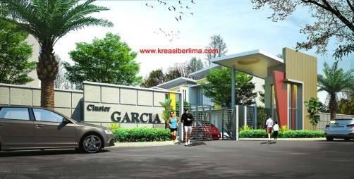 Main Gate Cluster Garcia Kota Modern Tangerang